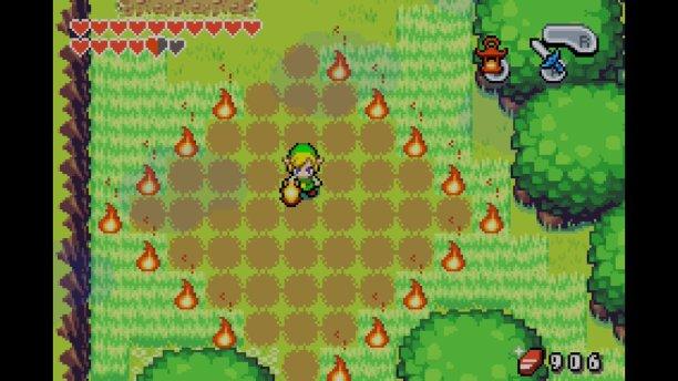 Breath of the Wild war nicht das erste Zelda, bei dem sich ganze Felder in Brand stecken ließen.