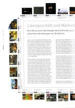 Kurz und prägnant: Kalle Max Hofmanns Abriss der Geschichte von Filmumsetzungen gehört zu den besten Artikeln im Heft.