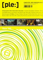 """""""Und wie immer reichlich Tiefgang""""? Das Cover der Dezember 2005 / Januar 2006 Ausgabe präsentiert sich ganz im XBox-Grün."""