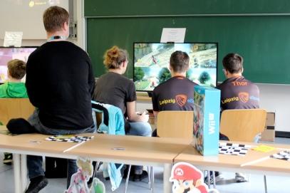 Im Tagesverlauf fanden mehrere Mario Kart 8-Turniere statt.