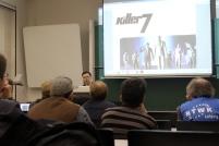 Neben Eternal Darkness und Pac-Man Versus sprach ich über Killer 7.
