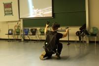 Dieses neumodische Virtual Reality-Zeug durfte dieses Jahr natürlich auch nicht fehlen. ;)