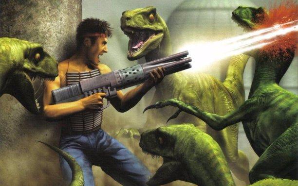 Turok 2: Seeds of Evil –Acclaim zählte zu den stärksten Unterstützern de N64. Auf die VC schaffen es die Spiele leider nicht.