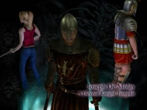 Die E3-Demo 2001 gibt Joseph Namen und Hintergrund