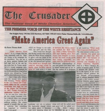 Dem KKK nahe Publikation.
