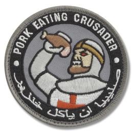 Die populärste Form des Patches, der seinen Ursprung vermutlich bei lokalen Händlern im Irak hat.