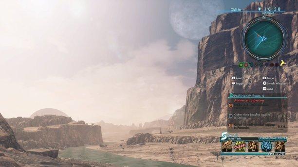 Oblivia (oder Sandy Bum Desert, in der Sprache der Nopon) besticht durch environmental storytelling.