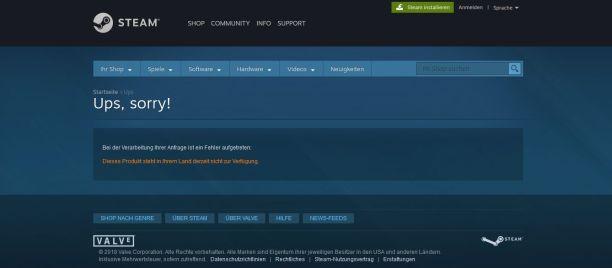 Attentat 1942 kann in Deutschland nicht offiziell und somit nur über Umwege (VPN) bezogen werden. Im deutschen Steam-Store wird das Spiel nicht einmal angezeigt.