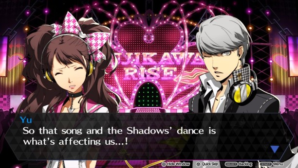 Bild: Persona 4 Dancing All Night