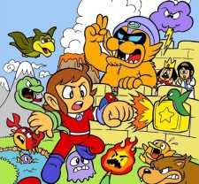 Alex Kidd in Miracle World, SEGA 1986