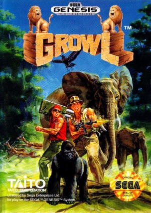 Growl, Taito 1991