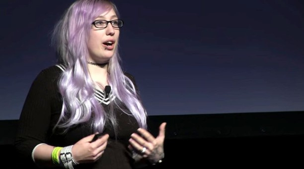 """We wanted to communicate what it's like to be in that headspace."" – Zoe Quinn (Quelle: Gameplanet)"