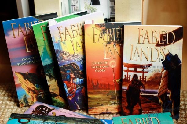 Fabled Lands in der aktuellen, englischen Taschenbuchausgabe.