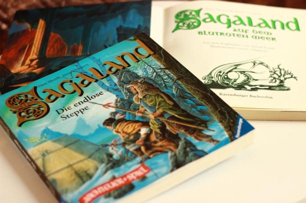 Die deutsche Erstveröffentlichung erschien in den 90ern im Ravensburger Verlag unter dem Titel Sagaland.