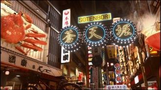 In Yakuza Kiwami 2 wird die Hauptstraße nahezu identisch abgebildet.