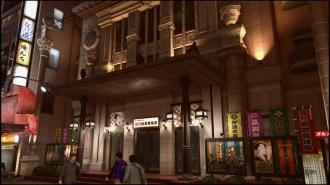 In Yakuza Kiwami 2 ist das Theater reine Kulisse.