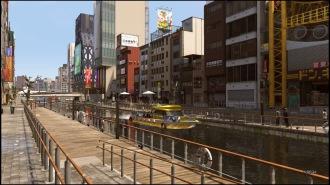 Wenn streitlustige Schläger nicht gerade die Auseinandersetzung suchen, ist die Promenade auch in Yakuza Kiwami 2 vergleichsweise ruhig.