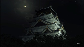 In Yakuza Kiwami 2 kann man die Burg ebenfalls sehen.