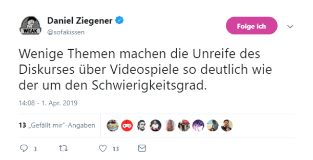 Quelle: Twitter (Screenshot vom 2. April 2019)