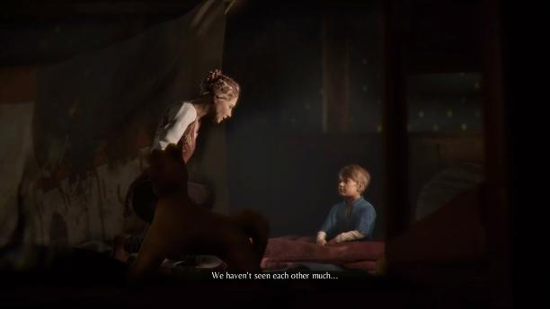 Die Hauptcharaktere von A Plague Tale: Innocence hatten nie ein enges Verhältnis