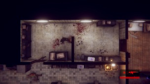 Der schmutzige Look und die Farbgebung erinnern oft ans erste Max Payne.