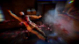 Den letzten Kill eines Levels setzt das Spiel effektvoll in Szene.