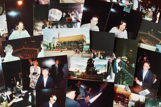 Collage von Fotos rund um die Konzerte aus den Jahren 2004 bis 2007. Wer erkennt die Komponisten?