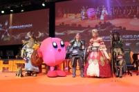Die fünf Gewinner des Cosplay-Wettbewerbs