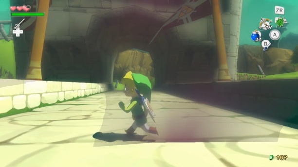 "The Legend of Zelda: The Wind Waker, Nintendo (2003) - Quelle: Youtube/ "" How Barrier Skip Changes Wind Waker Speedrunning"" von gymnast86"