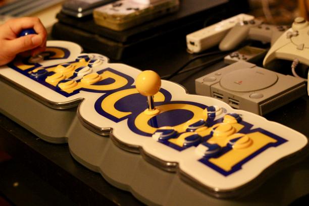 Das Capcom Home Arcade ruft nach einem zweiten Spieler.
