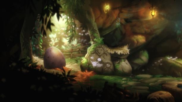 """Das Bild der """"neuen Familie"""" in Narus Höhle. (Quelle: eigener Screenshot)"""