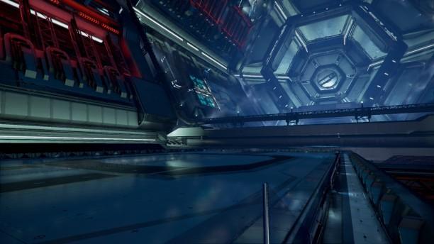 Diese Raumstation in X4 war ungewöhnlich leer. Leider erfuhr ich bald, warum.