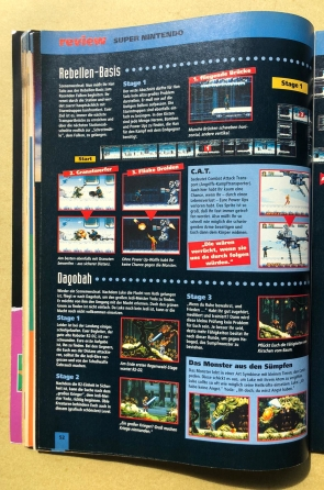 Review zu Super Star Wars: The Empire Strikes Back in Ausgabe Nr. 3 (März/April 1994)