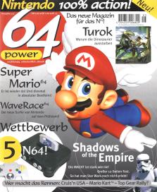 Erstausgabe der 64 Power aus dem Jahr 1997