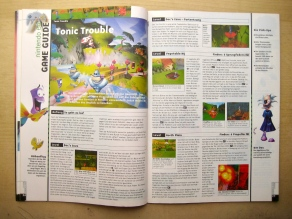 Game Guide zu Tonic Trouble in Ausgabe 11-12/1999 (November/Dezember)