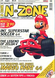 Erstausgabe der N-Zone aus dem Jahr 1997