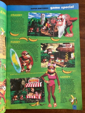 Game Special zu Donkey Kong Country in NFV Nr. 10 (Dezember 1994)