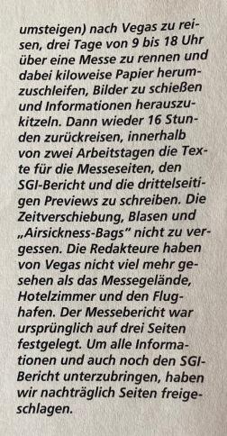 Leserbrief & Antwort der Redaktion in Fun Vision Nr. 4 (Mai/Juni 1994)