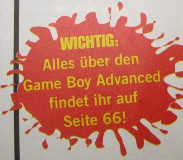 Teils wilde Spekulationen zum Game Boy Advance in NFV 11-12/1999 (November/Dezember)