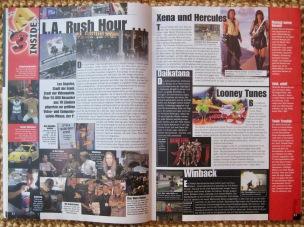 Erste Seiten des Messeberichtes zur E3 1999 in NFV 7-8/1999 (Juli/August)