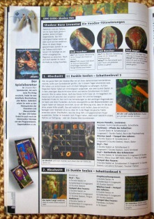 Game Guide zu Shadow Man in NFV 11-12/1999 (November/Dezember)
