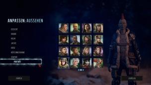Die vielfältigen Charaktertypen...