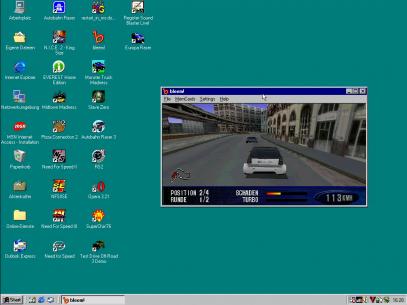 """Autobahn Raser II"" im Emulator"