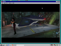"""Fear Effect"" im Emulator"