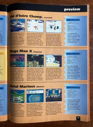 Kurz-Previews in Fun Vision Nr. 4 (Mai/Juni 1994)