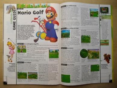 Game Guide zu Mario Golf in Fun Vision 11-12/1999 (November/Dezember). Der Preis wird mit ca. 100 DM angegeben.