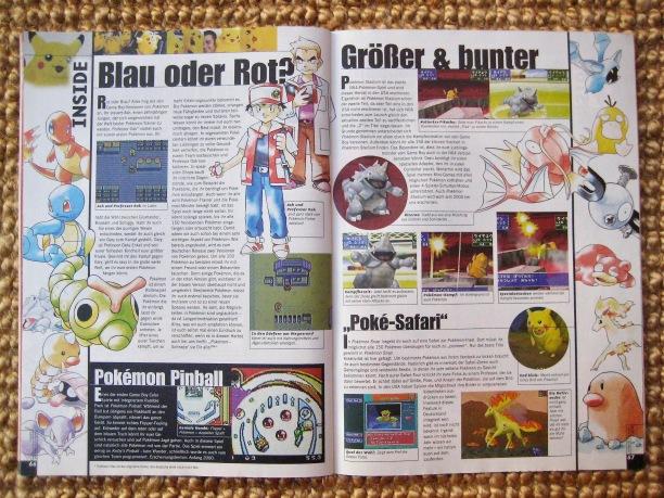 Nicht erst in der funcolor, sondern auch schon in der Fun Vision spielten die damals neuen Pokémon eine wachsende Rolle. Hier in Fun Vision 7-8/1999 (Juli/August).