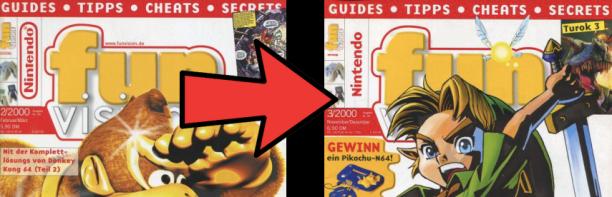 Kleine, aber möglicherweise vielsagende Veränderungen im Logo-Design der allerletzten Ausgabe.