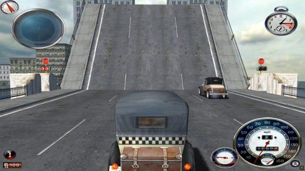Durch die hochgefahrende Brücke entsteht zusätzliche Wartezeit.