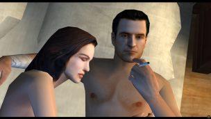 Fehlende Romantik: Tommy und Sarah führen einen emotionslosen Liebesakt aus.